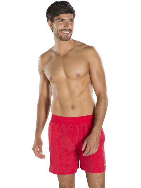 "speedo Solid Leisure 16"" Watershorts Men Red"